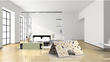 3D AR MAT - House Tent No.2