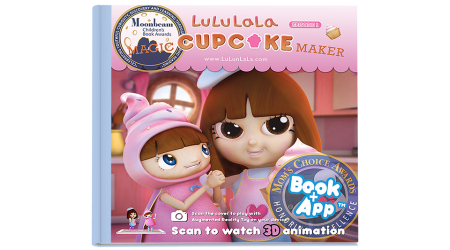LuLuLaLa Book 1  (Hard cover + Coloring Book)