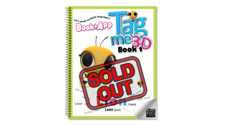 Tagme3D Book 1 (Spring cover + 100 Words Sticker Book) - Sold Out