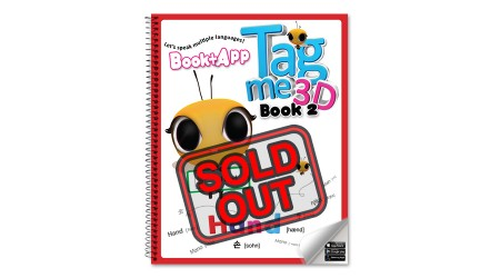 Tagme3D Book 2 (Spring cover + 100 Words Sticker Book) - Sold Out