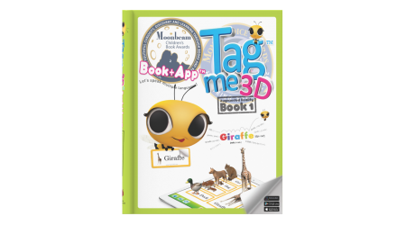 Tagme3D Book 1 (Hard cover + 100 Stickers + Coloring Book)
