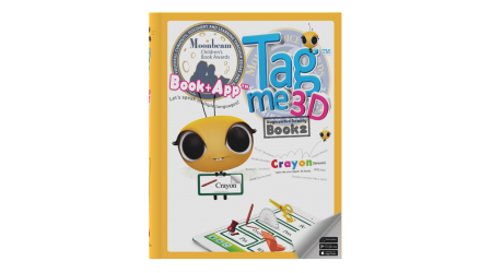 Tagme3D Book 2 (Hard cover + 100 Stickers + Coloring Book)