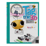 Tagme3D Book 3 (Hard cover + 100 Stickers + Coloring Book)