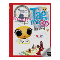 Tagme3D Book 4 (Hard cover + 100 Stickers + Coloring Book)